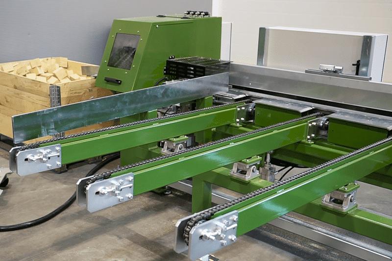 potimizing block cutter